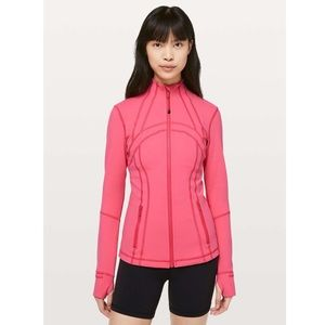 Lululemon Define Jacket Boom Juice Pink Size 12